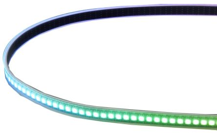 ADAFRUIT INDUSTRIES 2328, DotStar Series 0.5m LED Light Strip RGB LEDs 5V dc