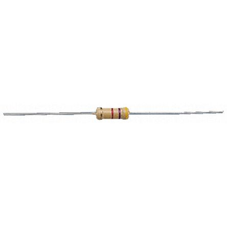 RS Pro RS Series Axial Carbon Resistor 200Ω ±5% 0.5W -500 → +350ppm/°C