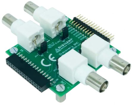 Digilent Oscilloscope Adapter BNC Adapter Board, Model 410-263 for use with Analog Discovery 2