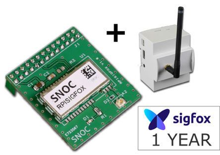 SIGFOX HAT for Raspberry Pi