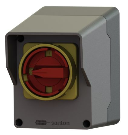 3 Pole Plug In Switch Disconnector, NC/NO, 25 A, 15 kW, IP65, IP69