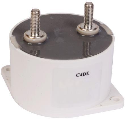 KEMET 100μF Polypropylene Capacitor PP 1 kV dc ±10% Tolerance Flange Mount C4DE Series