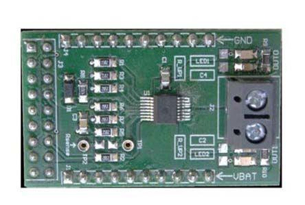 stmicroelectronics vn7008aj mosfet 驱动器 评估测试板 ev-vn7008aj