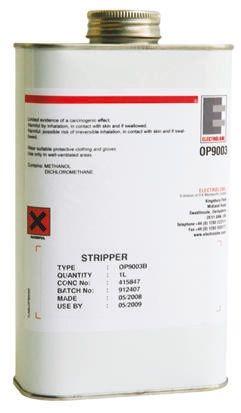 Nettoyant resine epoxy