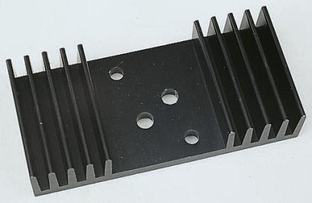 Heatsink, TO-3, 2.2K/W, 75 x 54 x 31.6mm