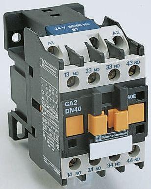 CA2DN22M7 | CA2DN 4 Pole Contactor, 2NO/2NC, 10 A, 220 V ...