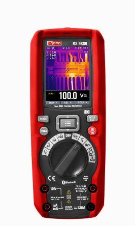 RS PRO 手持式數字萬用表, RS - 98, 最大交流電流測量 10A 交流