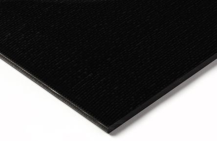 Black Acetal Sheet, 500mm x 330mm x 6mm