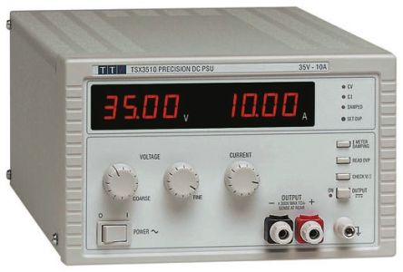 Aim-TTi TSX3510 Bench Power Supply With UKAS Calibration, 1 Output 35V 10A 360W