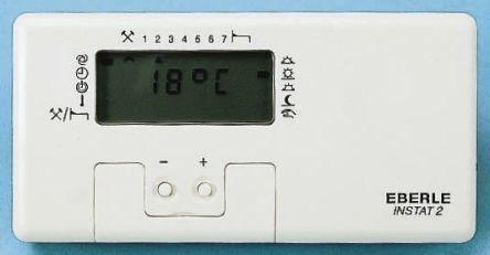 eberle digital thermostat klimaanlage und heizung zu hause. Black Bedroom Furniture Sets. Home Design Ideas