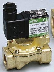 Asco Solenoid Valve SCE238C002 110/50, 2 port , NC, 115 V ac, 1/2in