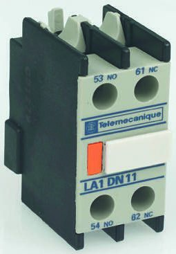 La1 dn11c auxiliary 2 no contacts block switch for ac contactor