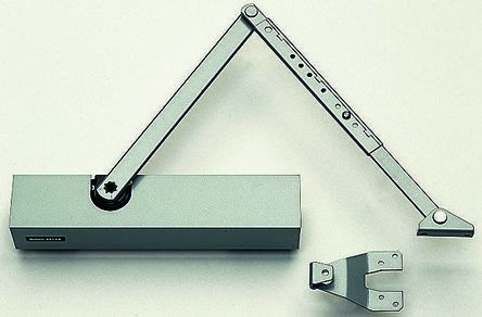 Briton Silver Fire Door Suitable Door Closer
