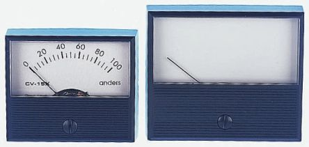 Anders Electronics Analogue Panel Ammeter 100μA DC, ±2 % Moving Coil