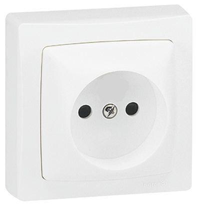 0 860 22 prise secteur ip31 blanc s rie saillie 16a montage encastr en plastique 230v ac. Black Bedroom Furniture Sets. Home Design Ideas