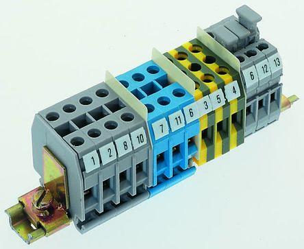 1sna112097r0500 011209705 bloc de jonction rail din - Bloc de jonction ...