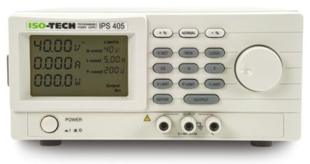 ISO-TECH IPS2010 Bench Power Supply With RS Calibration, 1 Output 0 → 20V 0 → 10A 200W