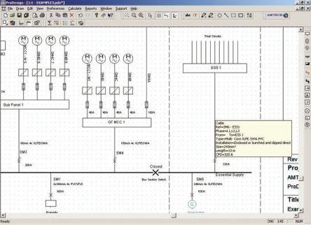 Prodesign 4 Amtech Prodesign 4 Electrical Installation