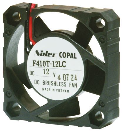 DC Axial Fan, 40 x 40 x 10mm, 6.6m³/h, 0.4W, 5 V dc