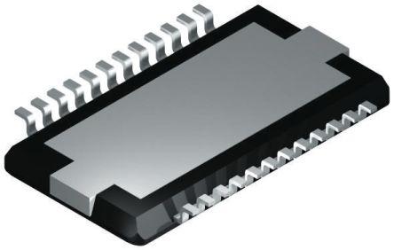 NXP TDA8922BTH/N2,118 D 类 1 通道单声道/2 通道立体声 音频放大器, 75dB, +85 °C, 24引脚 HSOP封装