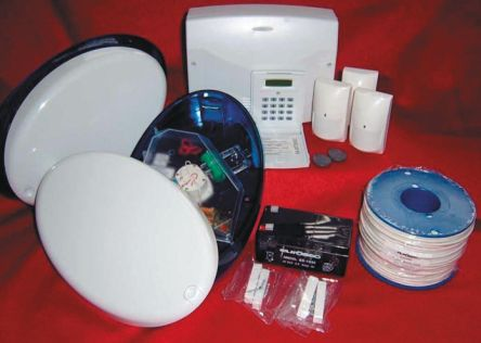 Gardtec CP8LCD-RS Eurosec Security Alarm System