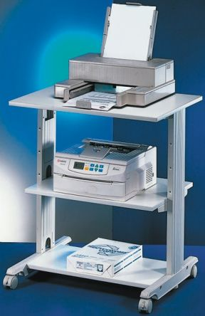 roline 3 shelf printer stand 30kg max load