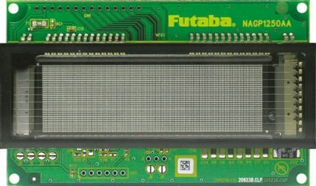 futaba nagp-1250aa-0 32 x 140矩阵 可寻址字符集 vfd(真空荧光显示