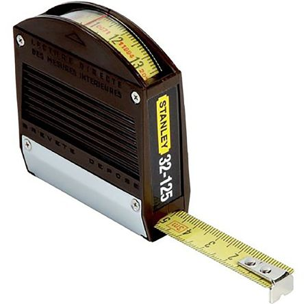 stanley 3m tape measure metric