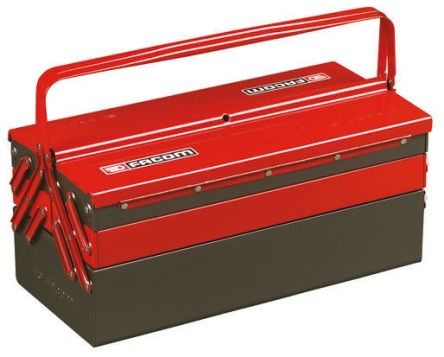 Facom Metal Cantilever tool box dimensions 560 x 220 x 238mm