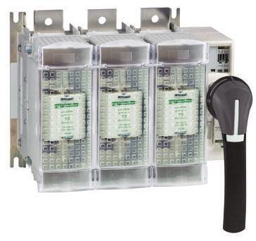 Gs2n3 sectionneur fusible 200 a c c 250 a c a 3p taille de fusible 1 schneider electric - Sectionneur porte fusible telemecanique ...
