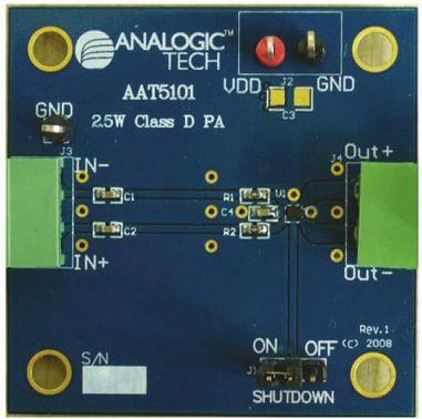 AAT5101 Eval Board