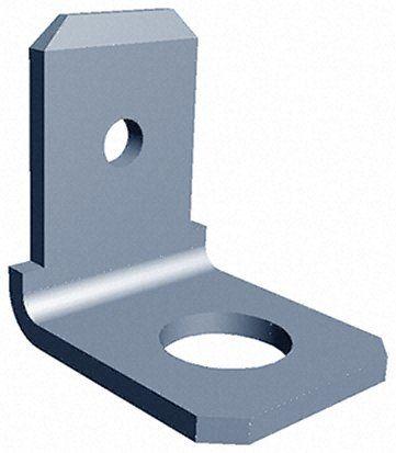 250 系列 直角 螺栓安装插片接线端子 181953-1, 6.35 x 0.81mm接片