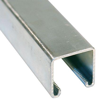 P1000 | 41 x 41mm Single Galvanised Steel Strut, 3m Long ...