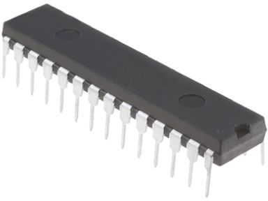 Microchip PIC16F570-I/SP, 8bit PIC Microcontroller, 20MHz, 2048 words Flash, 28-Pin SPDIP