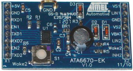 ATA6670 LIN transceiver Development Kit