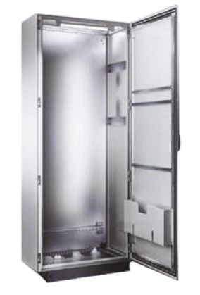 Floor Standing Enclosure Single Door Sheet Steel Grey 1800 x 600 x