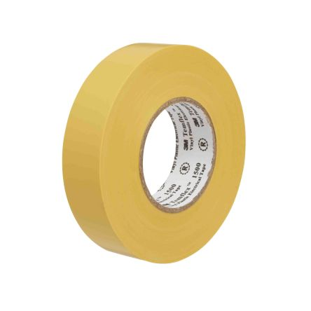 80474 3m Temflex 1500 Yellow Electrical Insulation Tape