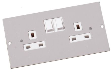 sp4201 | legrand floor box switch socket, 4 compartments 75 mm