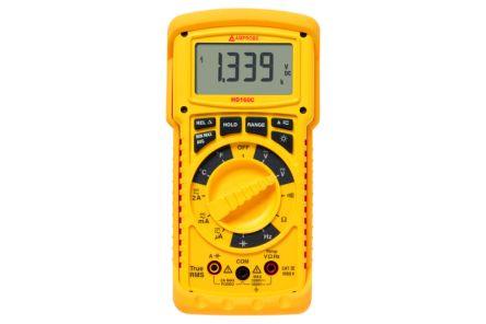 Amprobe HD160C Handheld Digital Multimeter, 2A ac 1000V ac 2A dc 1500V dc