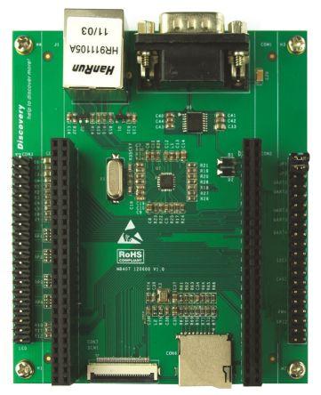 它具有 microsd 卡插槽,lcd 显示屏板的以太网连接和扩展连接器,摄像