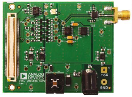 该电路围绕 ad8318 对数射频检测器/控制器和 ad7887 micro-power 2