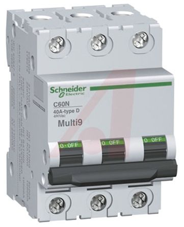 Mg17469 C60 Mcb Mini Circuit Breaker 3p 60 A 5 Ka