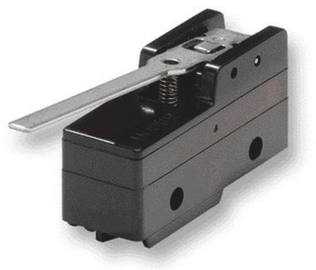 IP00 Snap Action Limit Switch, Roller Lever, Thermosetting Resin, NO/NC, 500V