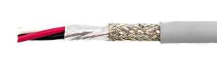 78323 | Alpha Wire 3 Core EcoCable mini Screened Grey PVC ...