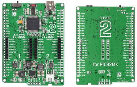mikroelektronika pic pic32 处理器系列 开发板 评估测试板 ver. 1.