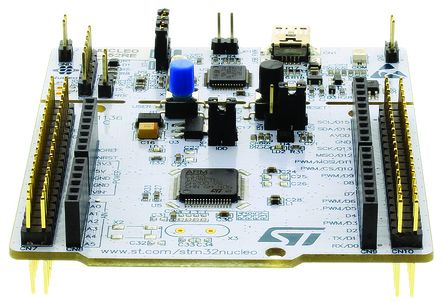 stm32f0 处理器系列 评估测试板 nucleo-f070rb; 载有 stm32f070rbt6