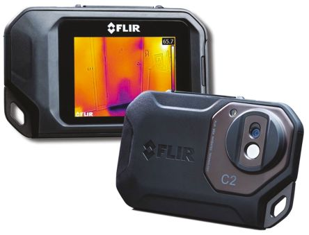 FLIR C2 | FLIR C2 Thermal Imaging Camera, Temp Range: -10 → +150 ...