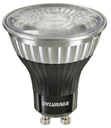 26817 sylvania gu10 led reflector bulb 5 w 52w 2700k extra warm white dimmable sylvania. Black Bedroom Furniture Sets. Home Design Ideas