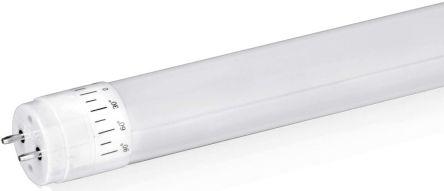 Aurora AU 31 W 2600 lm T8 LED Tube Light, Cool White 4000K 840, G13 Cap, 100 → 240 V ac