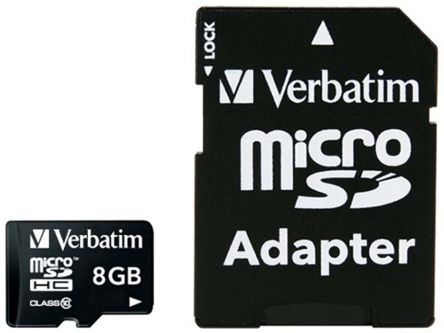 Verbatim 8 GB MLC Micro SD Card